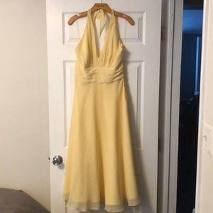 Donna Morgan yellow dress